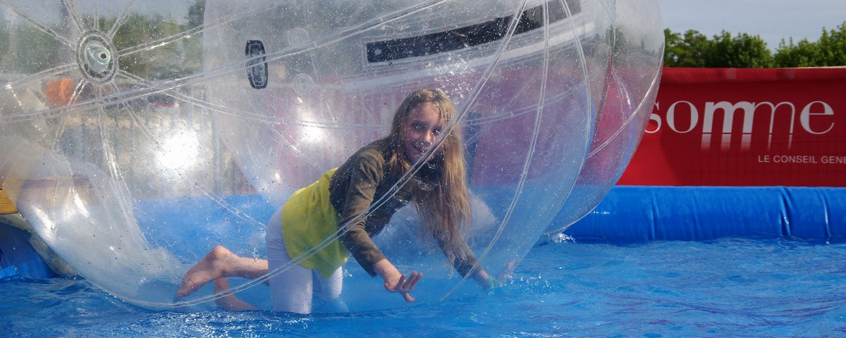 Water ball a noleggio piscina con sfere gonfiabili spettacolo viaggiante - Piscina gonfiabile adulti ...